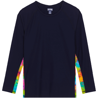 Men Others Printed - Men Rashguard Holi Party, Navy front