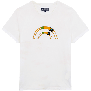Men Others Printed - Men Cotton T-Shirt Mrzyk & Moriceau, White front