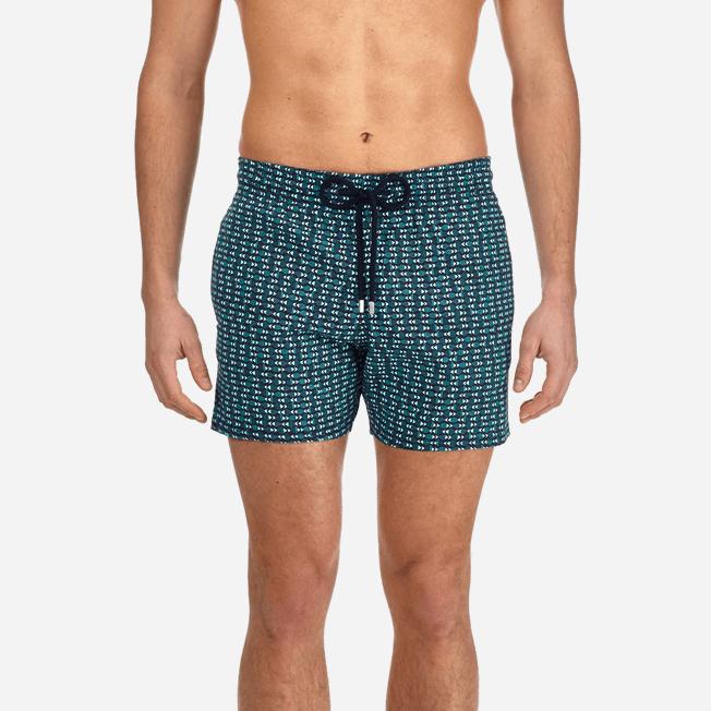 Vilebrequin - Men Stretch Swimwear Modernist Fish - 5