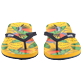 Women Others Printed - Women Flip Flops Go Bananas, Curry frontworn