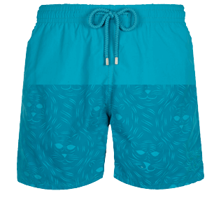 Men Classic Magic - Men Swim Trunks Bengale Tigers Water-reactive, Light azure front