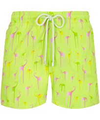 Men Stretch classic Printed - Men Stretch Swimwear Giaco Elephant, Coriander front