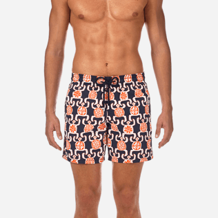Men Classic / Moorea Printed - Primitive Turtles Swim shorts, Navy supp1