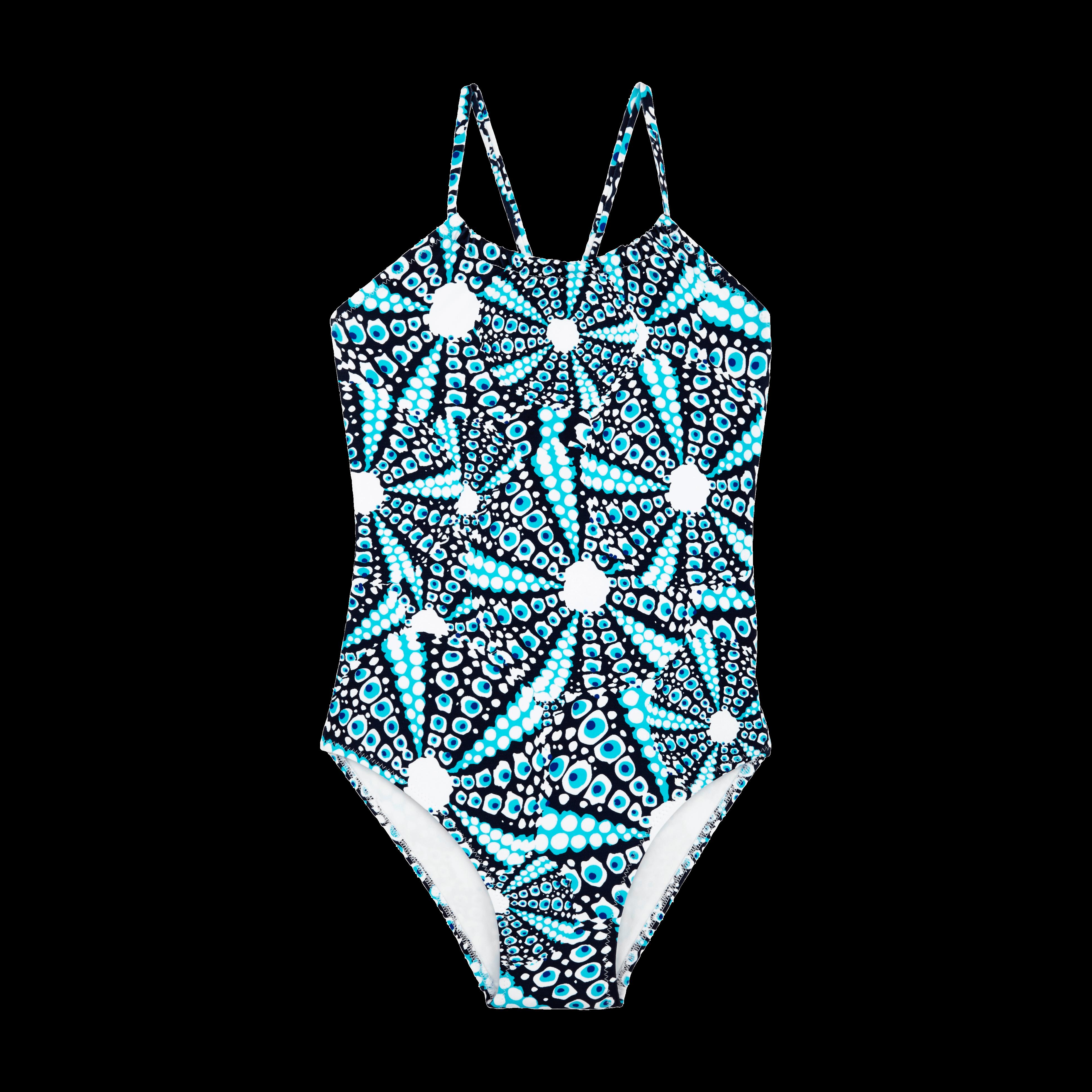 VILEBREQUIN | Girls Swimwear - Girls one piece swimsuit Oursinade - SWIMMING TRUNK - GAZETTE - Blue - 12 - Vilebrequin | Goxip