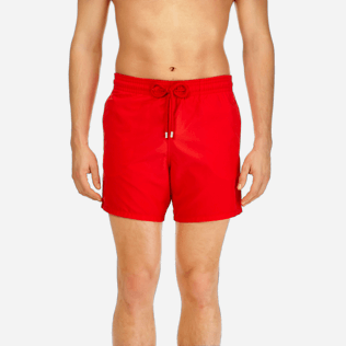 Men Classic / Moorea Printed - Men Water-Reactive Swimwear Magic Whales, Poppy red supp1