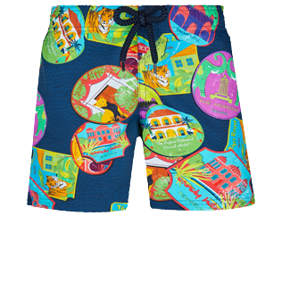 Boys Others Printed - Boys Swimwear Stretch Indian Resorts, Goa front
