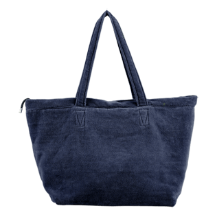 Others Solid - Large Beach Bag Solid, Navy back
