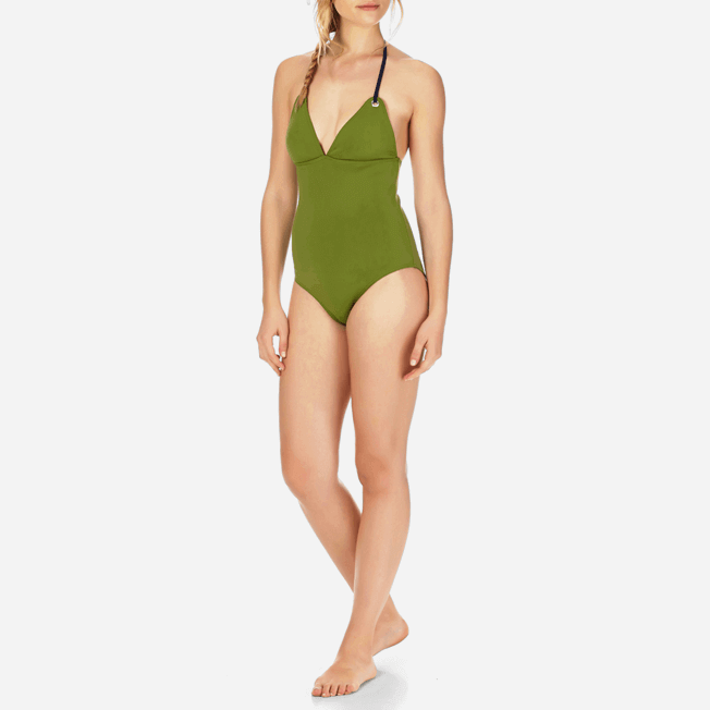 Vilebrequin - Women Triangle One Piece Swimsuit Neoprene - 2