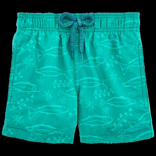 Vilebrequin - Water-reactive Sardines à l'Huile Swim Shorts - 4