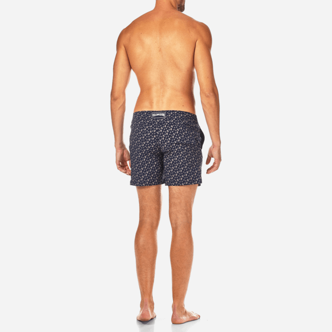 Vilebrequin - Micro Ronde des Tortues Superflex Fitted cut Swim shorts - 4