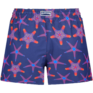 Women Others Printed - Women Swim Short Starfish Dance, Sapphire back