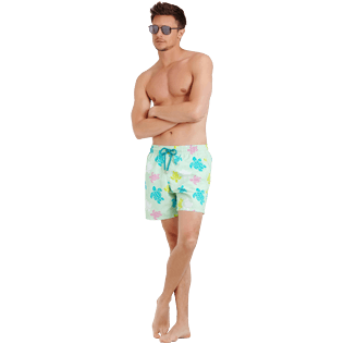 Men Classic Printed - Men Swimwear Ronde des tortues, Seaweed supp2