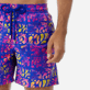 Men Classic Printed - Men swimtrunks Phuket, Sea blue supp1