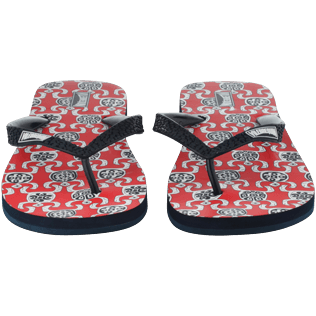 Others Printed - Flip Flop, Poppy red supp1