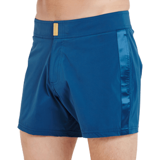 Men Flat belts Solid - Men Short and Fitted Swimtrunks Tuxedo, Spray supp1