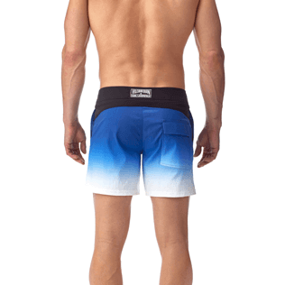 Men Fitted Printed - Karl Lagerfeld Fitted cut Swim shorts, Ocean supp3