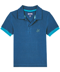 Boys Others Solid - Boys Cotton Pique Polo Shirt Solid, Goa front