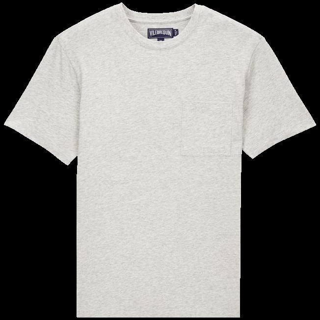 Vilebrequin - Camiseta en punto de algodón Pima liso para hombre - 1