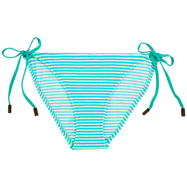 Vilebrequin - Stripped Terry Bikini brief - 1