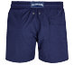 Men Stretch classic Solid - Men Stretch Swim Trunks Micro Ronde des Tortues, Sapphire back