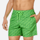 Men Ultra-light classique Printed - Men Swim Trunks Ultra-Light and Packable Micro Ronde des Tortues Fluo, Neon green supp1