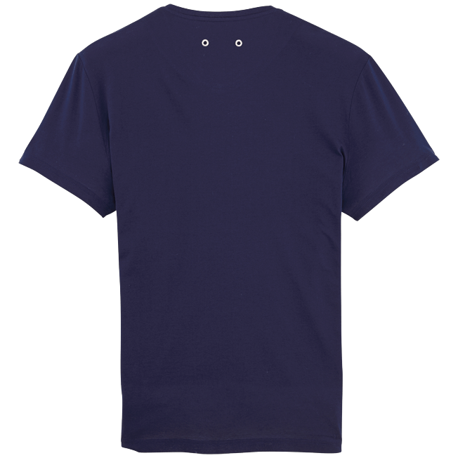 Vilebrequin - Solid V-neck Mercerized cotton T-Shirt - 2