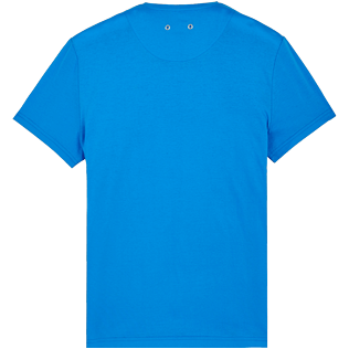 Men Others Solid - Men Mercerized Cotton T-Shirt V-neck Solid, Atoll back