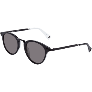 Others Solid - Smoke Black Sunglasses, Black back