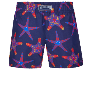 Filles AUTRES Imprimé - Shorty de Bain fille Starfish Dance, Saphir back