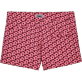 Frauen Shorties Bedruckt - Micro Turtles Hawaï-Stretch-Shorts, Rosa back