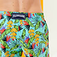 男款 Stretch classic 印制 - Men Swimwear Stretch Go Bananas, Lazulii blue supp3
