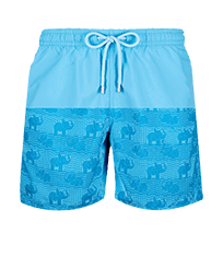 Men Classic Magic - Men Swim Trunks Elephants Bathroom Water-reactive, Jaipuy front