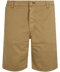 男款 Others 纯色 - Men Chino Bermuda Shorts Ultra-light, Camel front