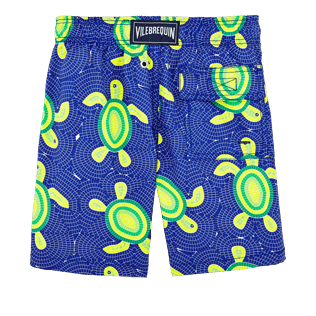 Boys Others Printed - Boys Swimtrunks Mosaic Turtles, Neptune blue back