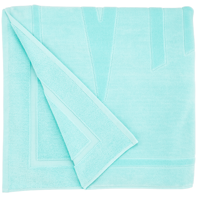 Vilebrequin - Beach Towel in Terry Cloth Solid Jacquard - 2