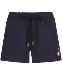 Women Others Embroidered - Women Swim Short The Year Of The Rat, Navy front