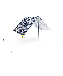 Others Printed - VILEBREQUIN X FATBOY® MIASUN - Portable Beach Tent, Navy front