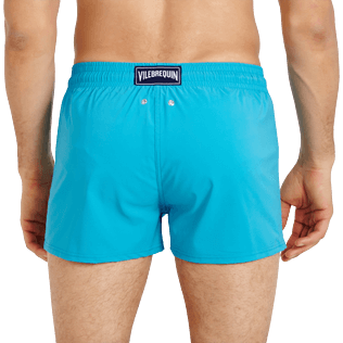 Men Short classic Solid - Men Swimwear Short and Fitted Stretch Solid, Curacao supp1