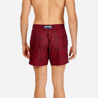 Men Ultra-light classique Printed - Men Lightweight and Packable Swimtrunks Mini Fish, Navy supp2