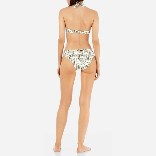 Vilebrequin - Braguitas de bikini de talle alto con estampado Bamboo Song para mujer - 3