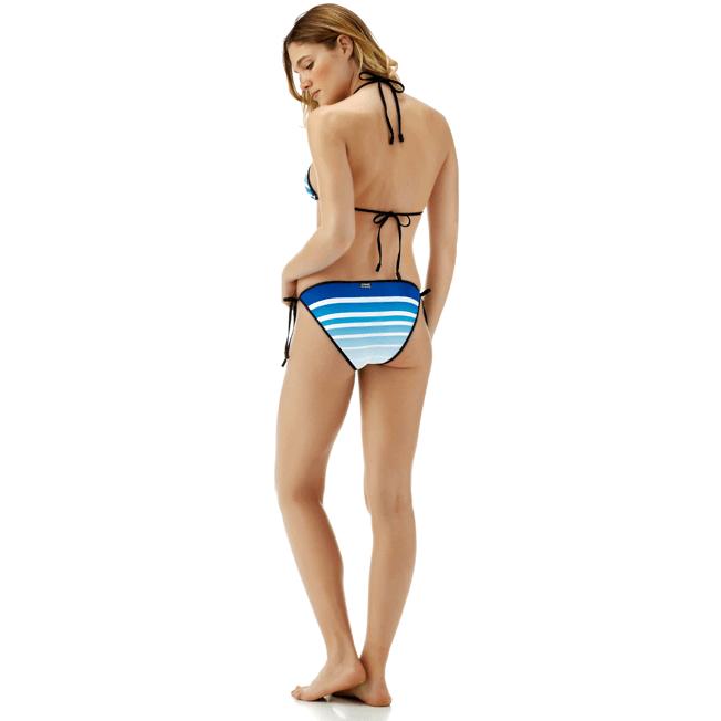 Vilebrequin - Karl Lagerfeld Triangle shape bikini top - 6