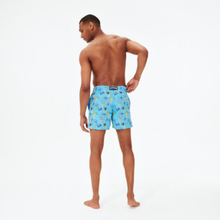 Uomo Classico Ricamato - Men Swimwear Embroidered Go Bananas - Limited Edition, Jaipuy backworn