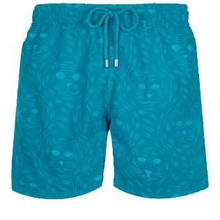 Men Classic Magic - Men Swim Trunks Bengale Tigers Water-reactive, Light azure supp4