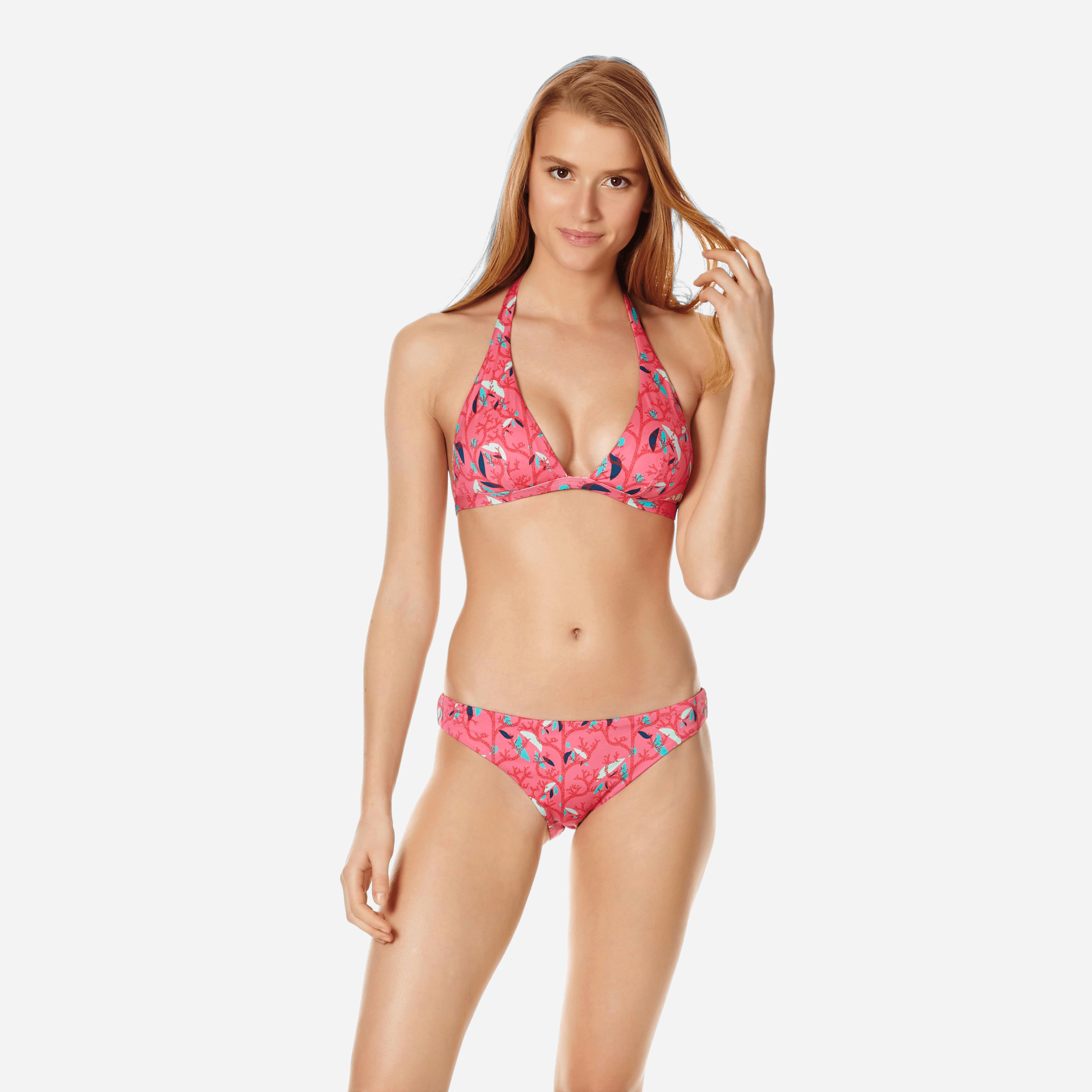 VILEBREQUIN | Women Swimwear - Women Bikini Bottom Midi Brief Turtles Song - SWIMMING TRUNK - FRISE - Pink - XS - Vilebrequin | Goxip