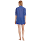 Others Printed - Unisex Cotton Voile Light Shirt Re Mi Fa Soles, Royal blue supp6