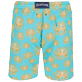 Men Long classic Printed - Men Swimtrunks Long Poulpes, Lagoon back