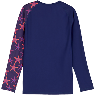 Uomo Altri Stampato - Rash guard uomo Starfish Dance, Zaffiro back
