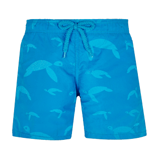 Boys Others Printed - Boys Swim Trunks Water-Reactive Origami Turtles, Hawaii blue supp1