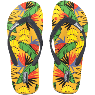 Men Others Printed - Men Flip Flops Go Bananas, Curry front