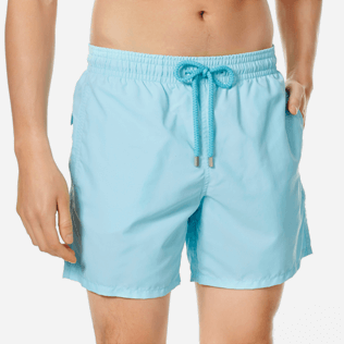 Men Classic Solid - Men swimtrunks Solid, Acqua supp1